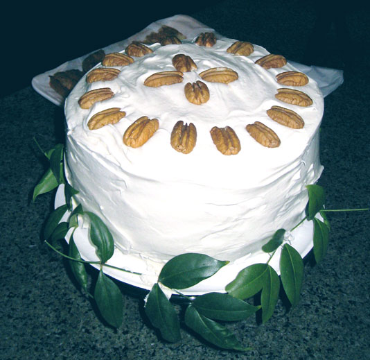 Amy MacDougall's Aunt Vonne's Carrot Cake